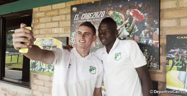 Borré y Palacios se incorporan a la concentración de la 'tricolor'