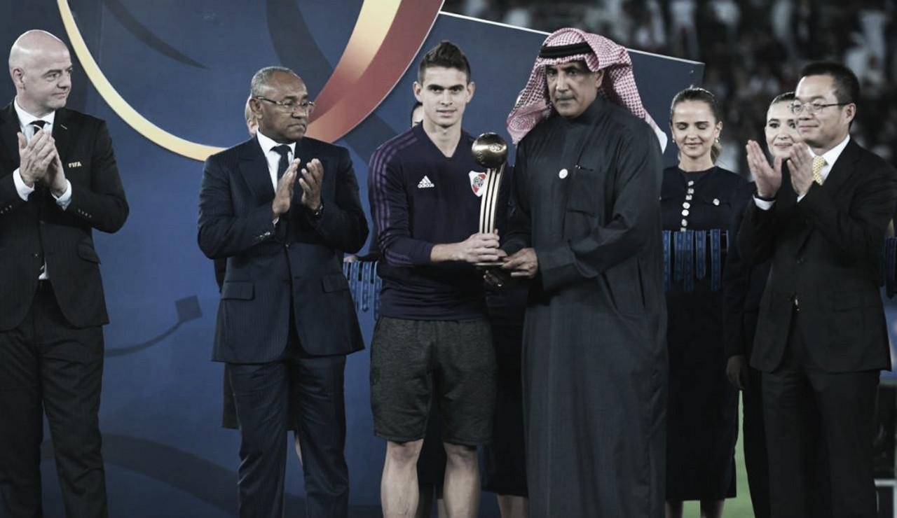 Borré recibió el balón de bronce