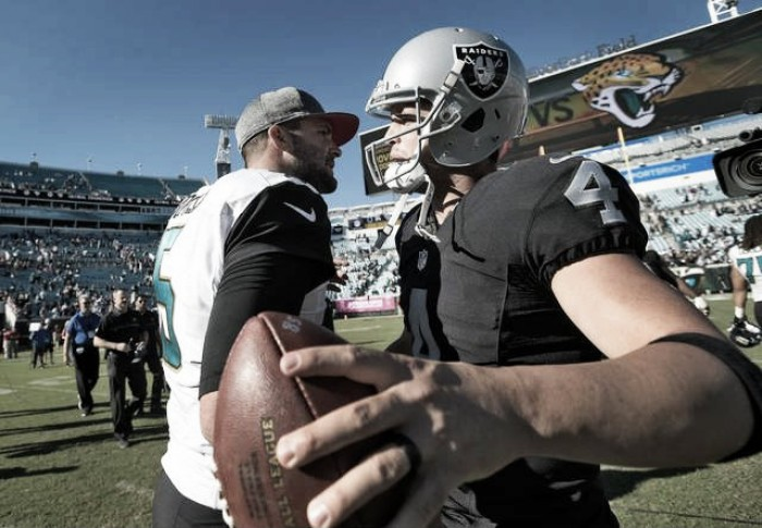 Los Raiders se dan un gustazo en Jacksonville