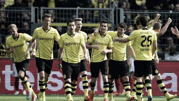 Resumen temporada del Borussia Dortmund 2013/2014: deslumbrando entre bache y bache