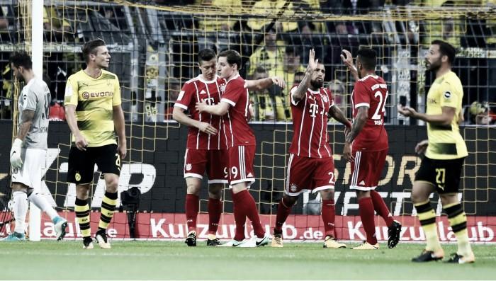 Bayern, calcio (di rigore) alle critiche: battuto il Dortmund dagli 11 metri, è Supercoppa!