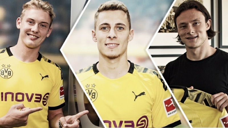Reforços do Dortmund aparecem entre as 10 maiores contratações do clube