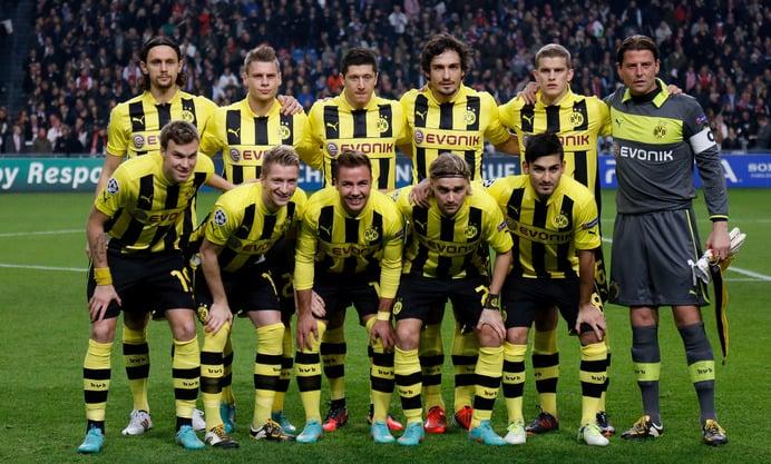 La plantilla del Borussia Dortmund, la más deseada