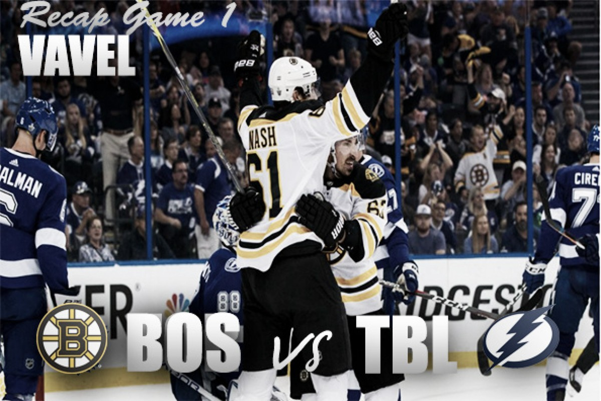 Boston Bruins strike thunder against Lightning with 6-2 victory