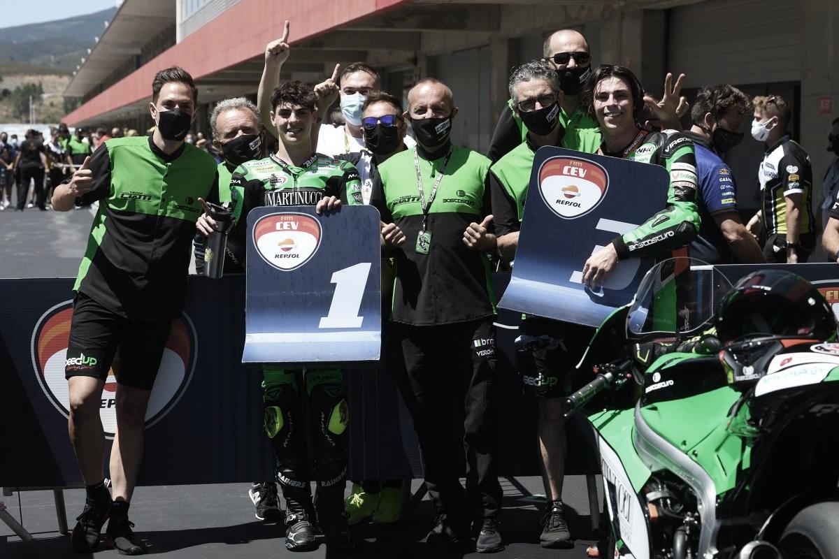Las victorias en Portimao dan ventaja al Boscoscuro Talent Team Ciatti