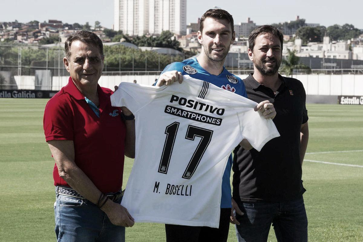 """Boselli exalta Corinthians em apresentação: """"Orgulho poder vestir essa camisa"""""""