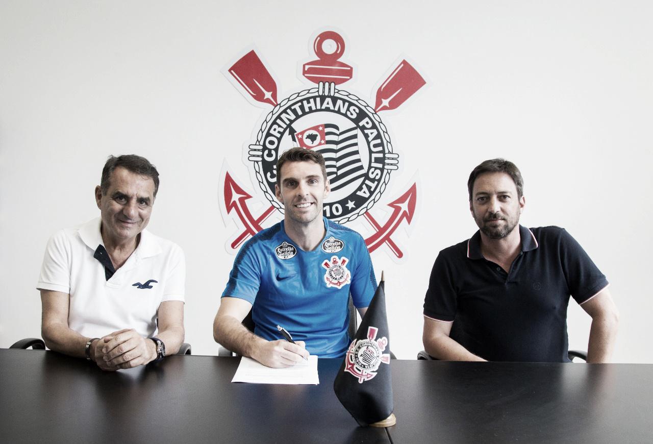 Corinthians anuncia contratação de Boselli por duas temporadas
