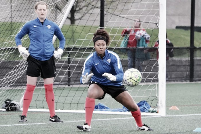 Boston Breakers goalkeeper Libby Stout out with sprained ankle