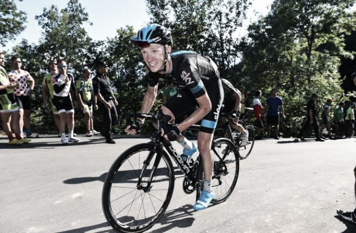 Chris Froome pushed me to my limits, admits Ian Boswell