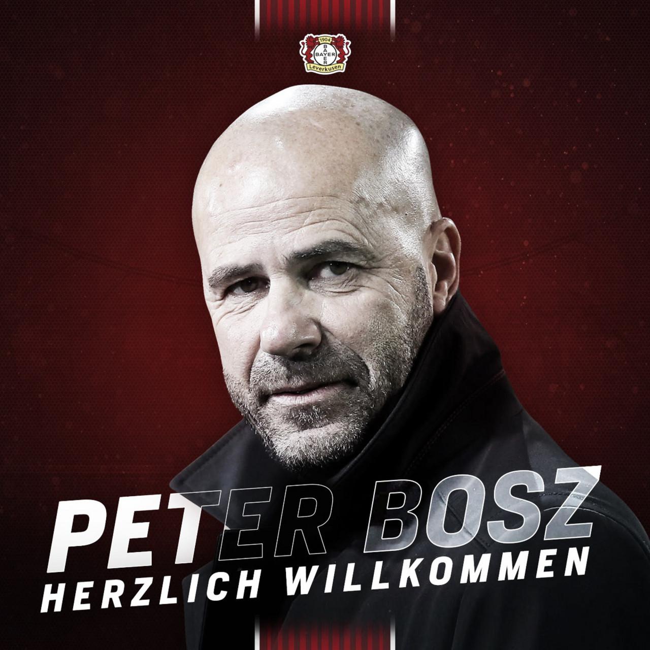 Leverkusen demiteHeiko Herrlich e anuncia técnico Peter Bosz para sequência da temporada