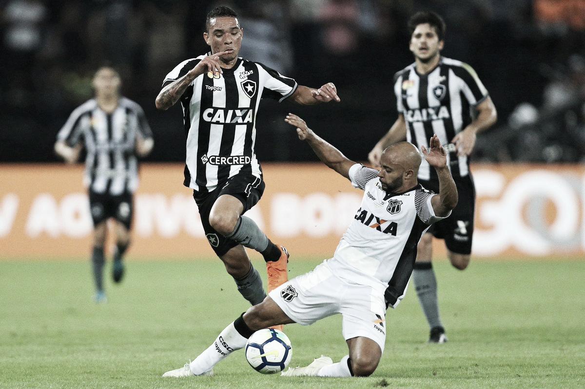 Com pênalti perdido, Ceará e Botafogo empatam sem gols no Castelão