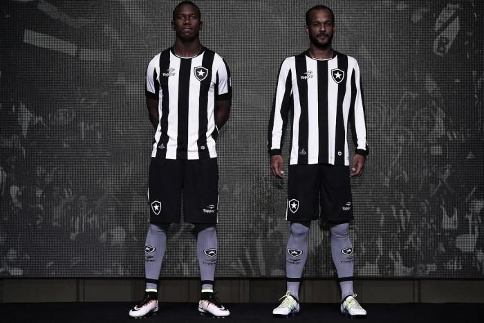 Botafogo lança uniforme patrocinado pela Topper para restante da temporada