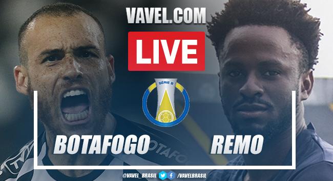 Gols e melhores momentos Botafogo x Remo pela Série B do Campeonato Brasileiro 2021 (3-0)