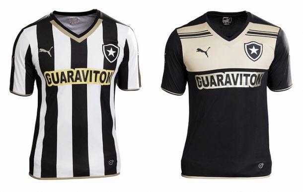 Novos uniformes do Botafogo são revelados - VAVEL.com 0b027223a63fe