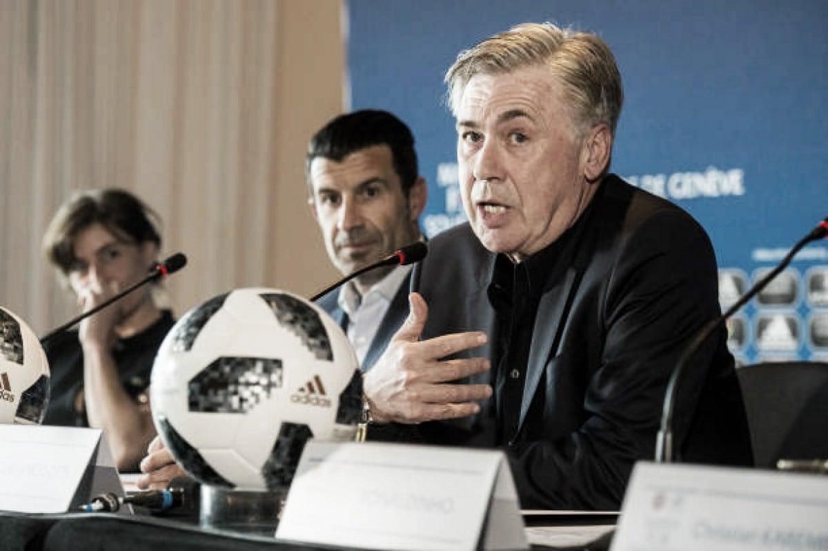 Após anunciar saída de Sarri, Napoli oficializa acordo com Ancelotti como novo treinador