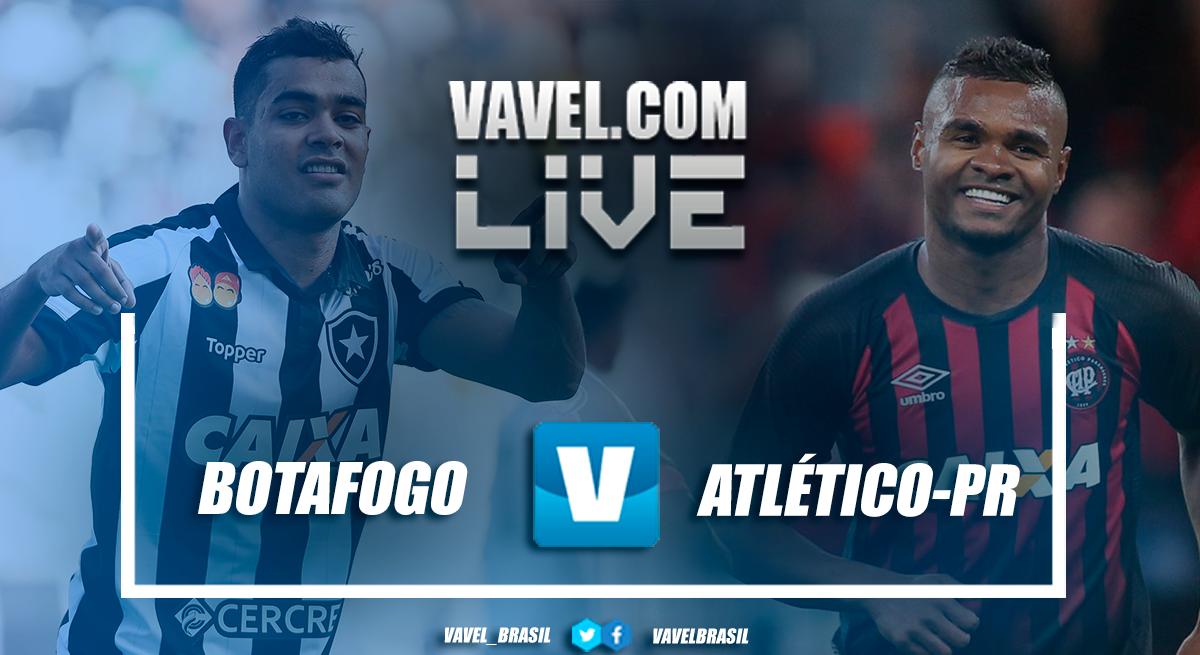 Resultado Botafogo x Atlético-PR pelo Campeonato Brasileiro 2018 (2-0)