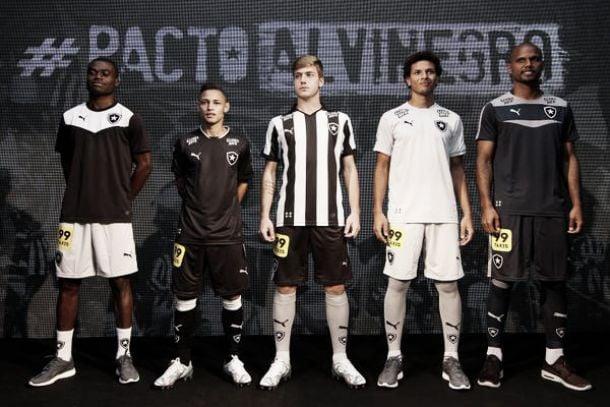 Botafogo lança novo uniforme para restante da temporada