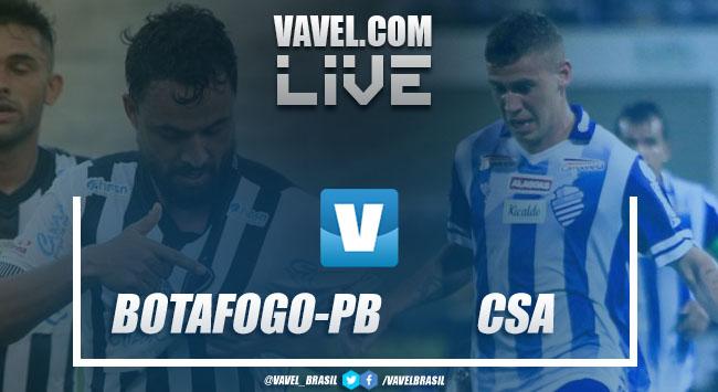 Resultado Botafogo-PB x CSA pela Copa do Nordeste 2019 (3-1)