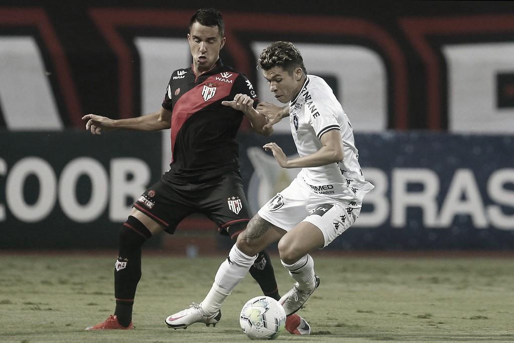 Após sair atrás, Atlético-GO busca empate contra Botafogo