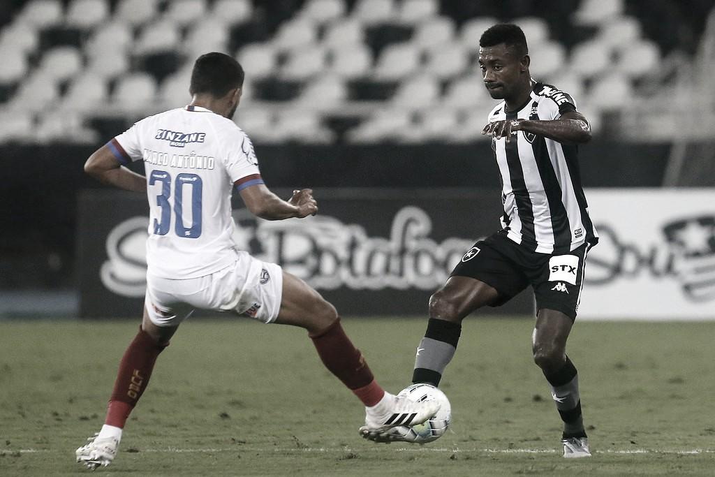 Bahia desencanta, finda sequência ruim diante do Botafogo e deixa zona de rebaixamento