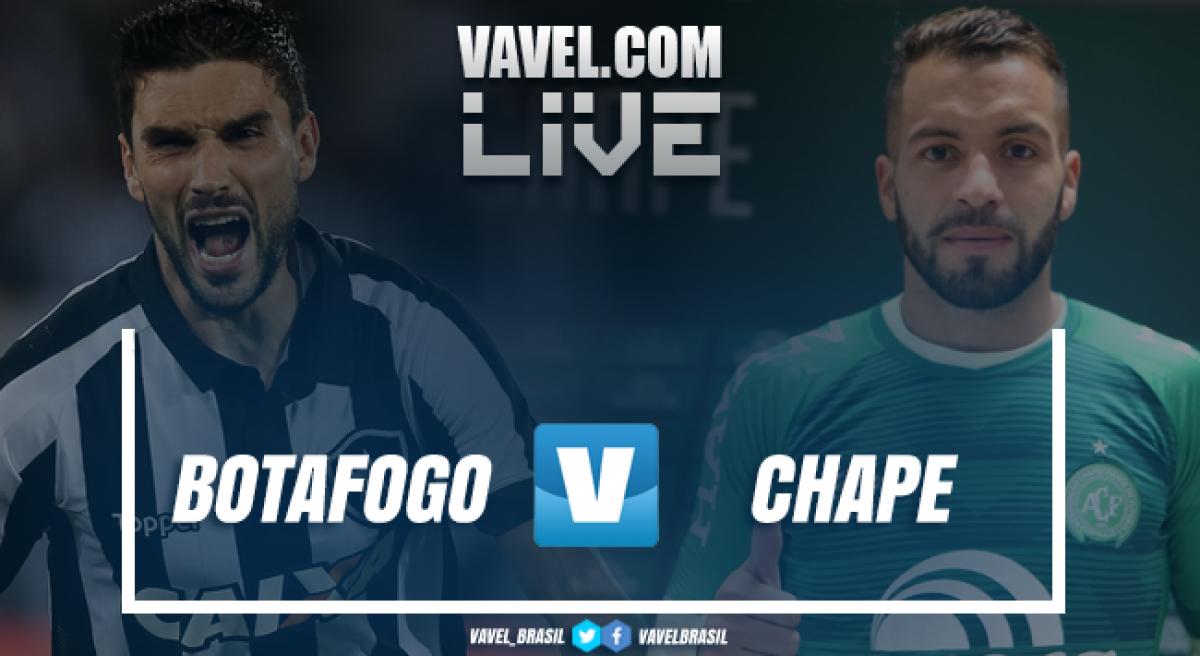 Resultado Botafogo 1 x 0 Chapecoense no Campeonato Brasileiro 2018