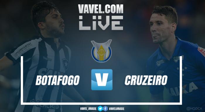Resultado Botafogo x Cruzeiro pelo Campeonato Brasileiro 2017 (2-2)