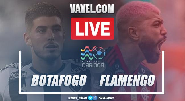 Gols e melhores momentos de Botafogo 0 x 2 Flamengo pelo Campeonato Carioca