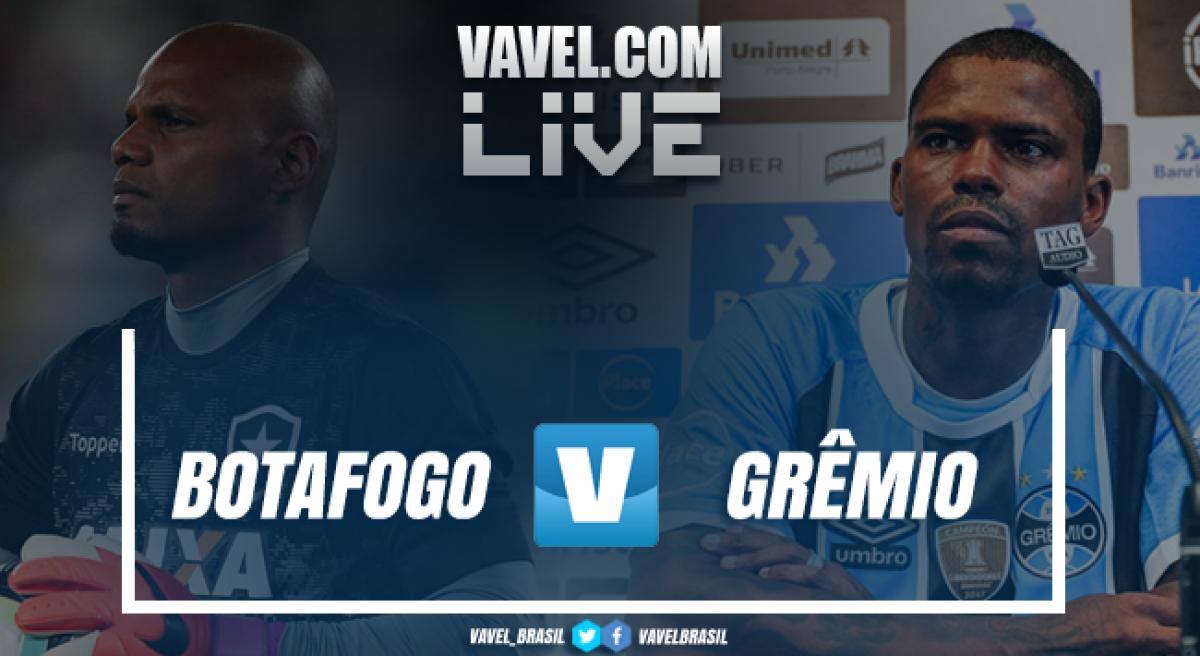 Resultado Botafogo x Grêmio pelo Campeonato Brasileiro 2018 (2-1)