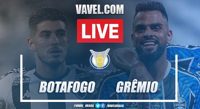 Gols e melhores momentos Botafogo 2 x 5 Grêmio pelo Campeonato Brasileiro