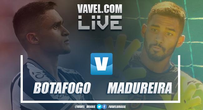 Resultado final Botafogo x Madureira pela Taça Rio (2-1)