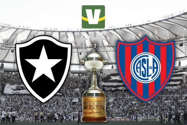 Botafogo x San Lorenzo, Copa Libertadores