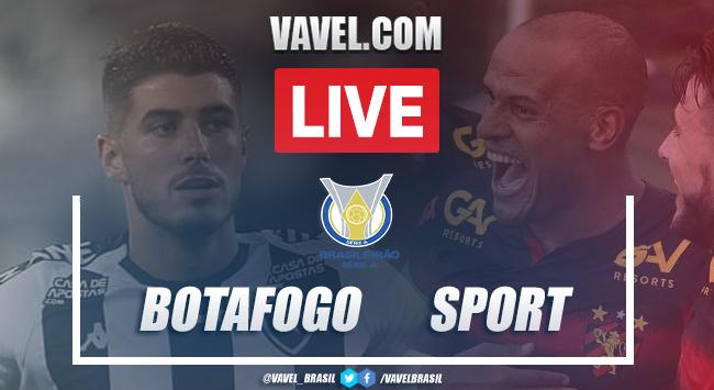 Gol e melhores momentos de Botafogo 0 x 1 Sport pelo Campeonato Brasileiro