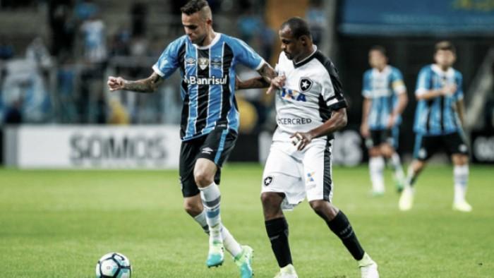 Brasileiro: Gol de Botafogo 1 x 0 Grêmio