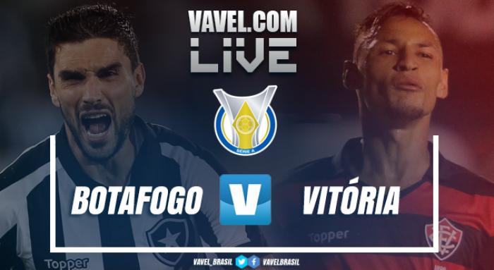 Resultado Botafogo 2x3 Vitória pelo Campeonato Brasileiro 2017
