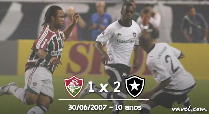 Relembre: há dez anos, Botafogo vencia o Fluminense na inauguração do Nilton Santos