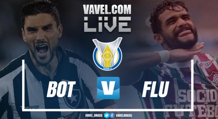 Resultado Botafogo x Fluminense no Campeonato Brasileiro (1-2)