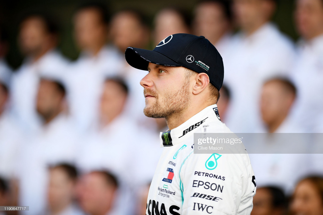 Bottas fastest in final FP1 of the season
