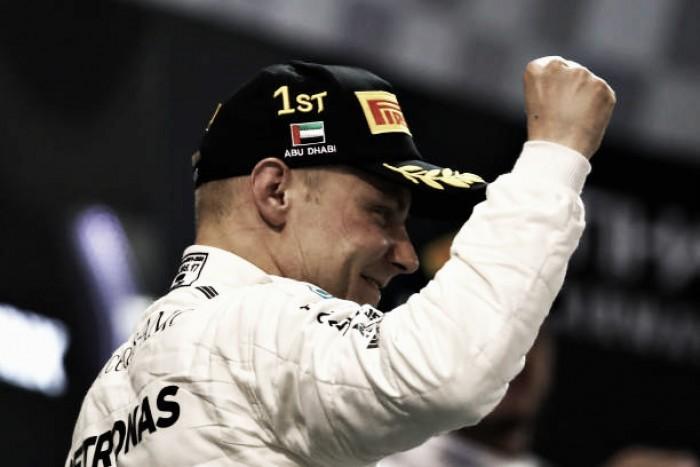 Bottas vence última corrida do ano em Abu Dhabi; Massa encerra carreira na F1 em 10º