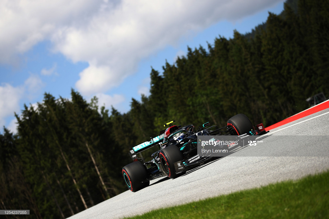 Valtteri Bottas breaks lap record for stunning pole lap in Austria