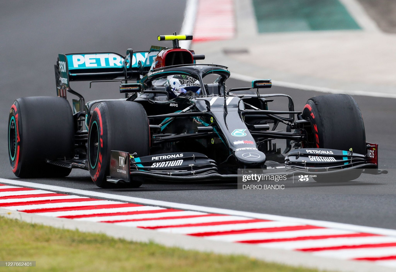 Mercedes show staggering pace to top FP1 in Hungary