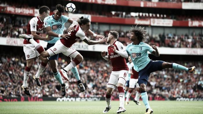 Resumen Bournemouth 2-1 Arsenal en Premier League 2018