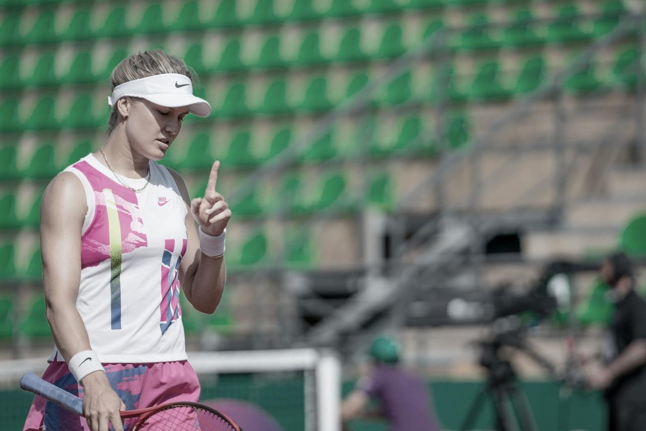 Bouchard vence Badosa em Istambul e volta à uma final da WTA após quatro anos