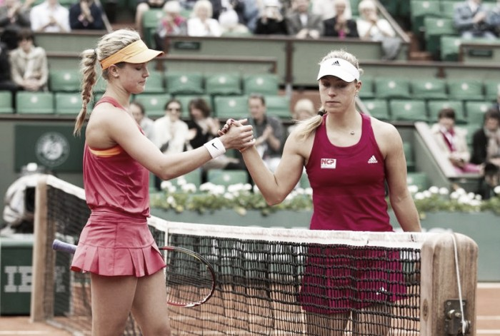 WTA Rome round two preview: Angelique Kerber - Eugenie Bouchard