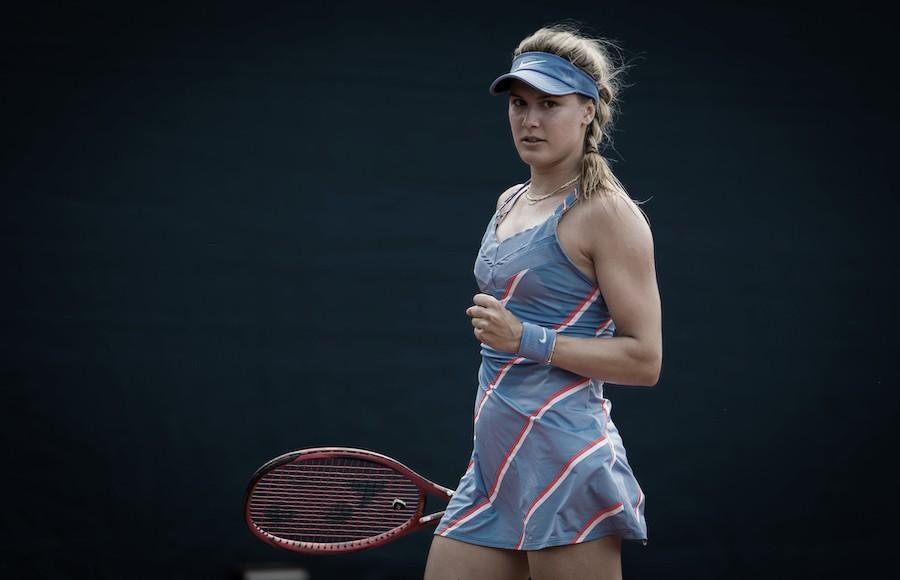 Bouchard domina Kudermetova e estreia com vitória em Praga