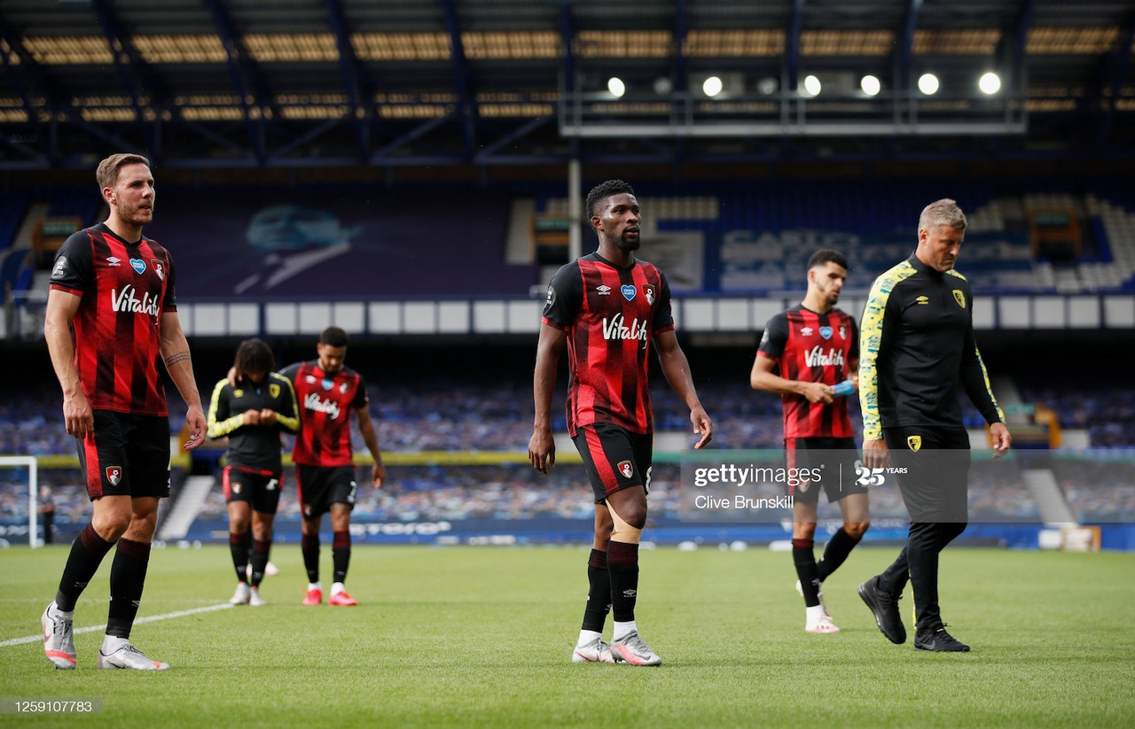 Everton 1-3 Bournemouth: Cherries relegated to Championship despite final-day heroics