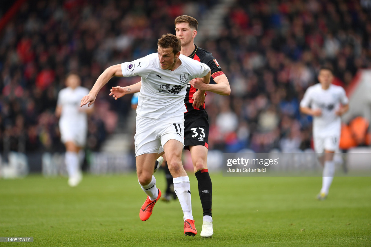 Bournemouth 1-3 Burnley: Clarets take a step closer to safety