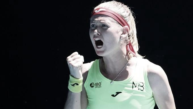 Bouzkova salva dois match points e elimina favorita Andreescu no WTA 250 de Melbourne