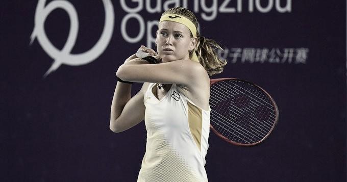 Bouzkova conta com desistência de Svitolina para avançar às quartas em Guangzhou