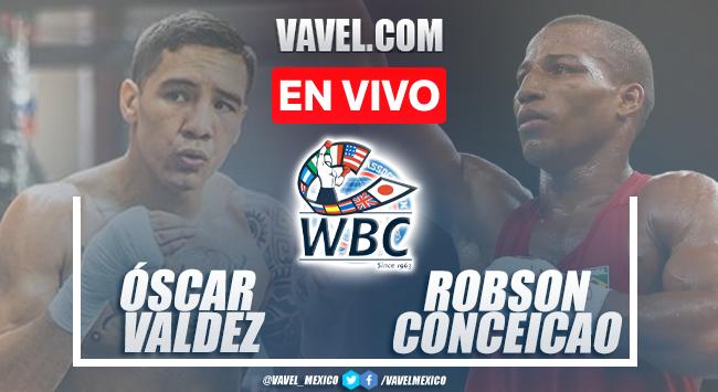 Resumen y mejores momentos de la pelea Óscar Valdez vs Robson Conceicao