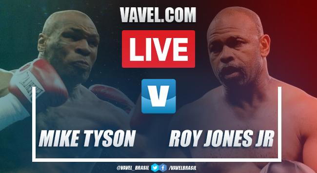 Resultados e melhores momentos: Mike Tyson vs Jones Jr no Boxe